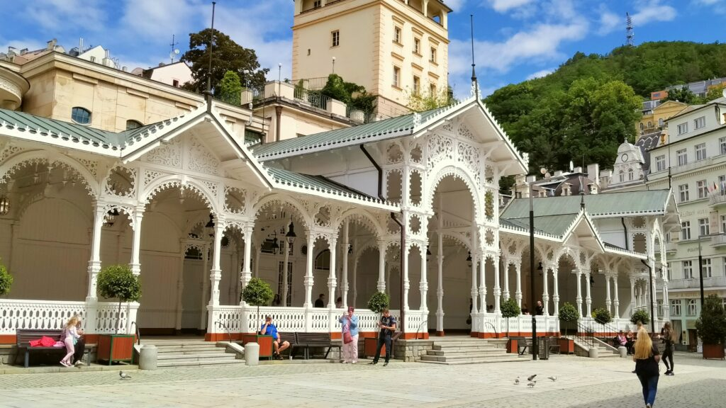 Why visit Czechia - Market Colonnade in Karlovy Vary